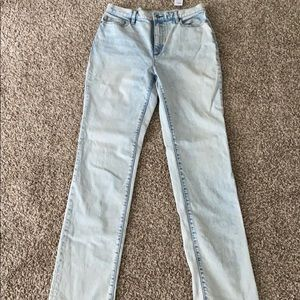 Lands end straight jeans